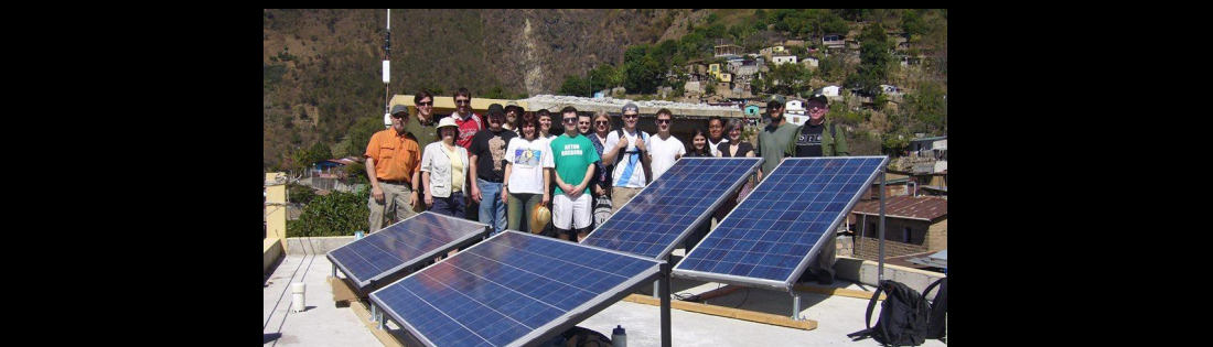 Volunteer Solar Installation