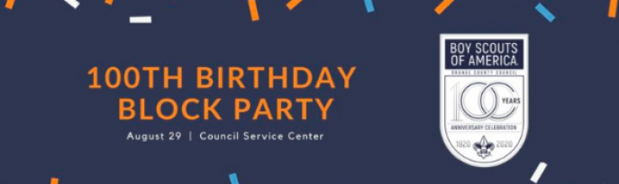 100th Birthday Block Party