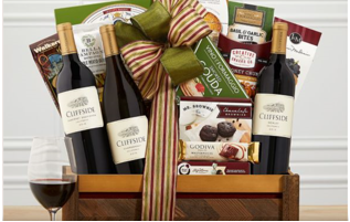 Steeplechase Vineyards California Wine Basket