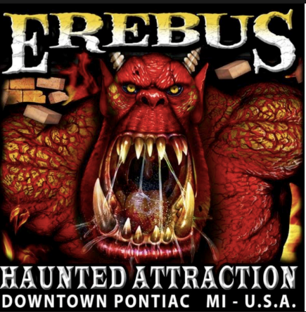 4 Erebus Haunted House Tickets
